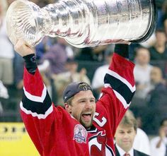 New Jersey Devils Captain Scott Stevens | 2000 Stanley Cup Final | New Jersey Devils defeat Dallas Stars four games to two | 2nd Stanley Cup title in team history