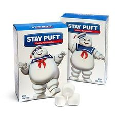 Yes, you can get Stay Puft Marshmallows in real life!