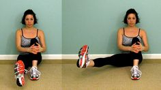 Bye bye thunder thighs! Holy cow, just tried these and they aren't as easy at they look! I could only do 3 reps of 10!