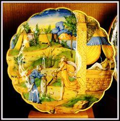 Musée d'Ecouen; Coupe godronnée. Judith et Holopherne. Italie, 2° moitié XVI°s - Coll Campana CL.7543.