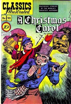 Cover for Classics Illustrated (Gilberton, 1947 series) #53 [O] - A Christmas Carol