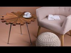 Tavolino flower dalla piacevole forma di fiore arredaclick