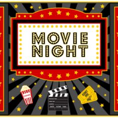 Movie Party Printables...for a fun family night!