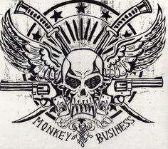 WET Monkey Business logo by Biothief.deviantart.com on @DeviantArt