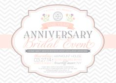 Don't miss our first year anniversary celebration! Come celebrate and meet Westchester's most elite wedding vendors.