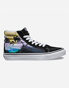 224a30708f5 VANS Dolphin Beach SK8-Hi Slim Womens Shoes Black High Top Sneakers, Lace  Sneakers
