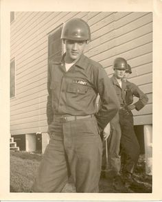 """Private Presley at Fort Hood, TX in 1958 