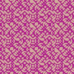 David Matthew Parker - Diecut Tiled pattern