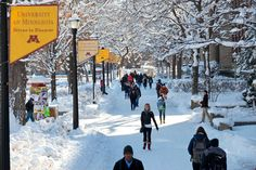 The mall. #UMNcampus