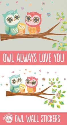Have a hoot decorating with our gorgeous Owl Wall Stickers kit! For only $49.95 you can purchase them here: http://www.brightstarkids.com.au/Owl-Wall-Stickers.aspx?p844 #owl #wallstickers #decorating