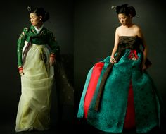 @Fritillaria - I want to wear these modernized hanboks.  I think my people's old school clothes would be super comfortable and flattering for my apple shape.