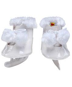 f4862a4de42 White Pom Ice Skates. Build A BearIce ...