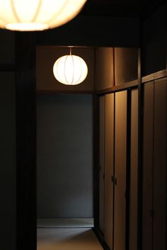 lamp , tatami corridor , Kyoto Japan , Japanese nostalgic