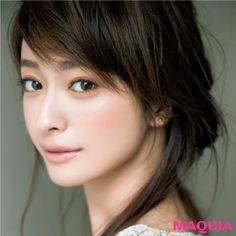 藤野有理 Love the complexion Japanese Beauty, Asian Beauty, Prity Girl, Beauty And The Best, Most Beautiful Faces, Models Makeup, Beauty Inside, Hairstyles With Bangs, Wedding Makeup