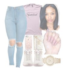 Untitled #25 by chicbre on Polyvore featuring polyvore, fashion, style, MICHAEL Michael Kors, Michael Kors, Casetify, NIKE and clothing