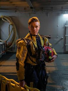 A firefighting crew member (smoke diver) on the the Norwegian Costguard vessel KV Barentshav. Norwegian People, Norwegian Air, Navy Coast Guard, Schengen Area, Coast Guard Stations, Fishing Vessel, Rear Admiral, Search And Rescue, Firefighting