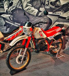 yamaha_DT200R-84    By motocroquis Dt Yamaha, Motos Yamaha, Yamaha Motorcycles, Motocross, Super 4, Super Cars, Off Road Bikes, Offroader, Trike Motorcycle