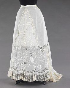 Petticoat   c.1900  The Metropolitan Museum of Art
