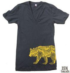 Unisex California Bear shirt