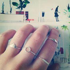Manual de uso: anillos, las piezas de Sansoeurs