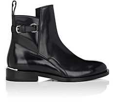 Acne Studios Chana Leather Ankle Boots - Boots - 505255022