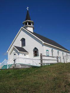 Eglise Ile d'Entrée Iles-de-la-Madeleine (Québec, Canada)