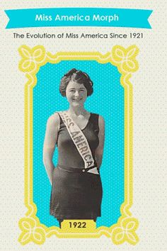 The people over at PsychGuides.com have compiled data demonstrating how the bodies of Miss America winners have changed over the years. | This Is How Miss America Winners' Bodies Have Changed Since 1921