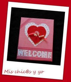 El #Retoinfantil, organizado por Manualidades con mis hijas, gira este mes en torno a las manualidades de San Valentín. Y mi aportación consiste en un cartel de bienvenida de corazones para la entr...