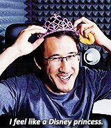 You are my favorite Disney princess, Mark. ♡