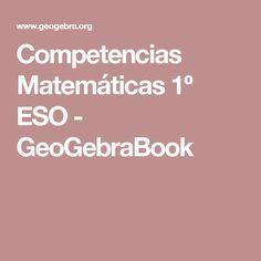 Competencias Matemáticas 1º ESO - GeoGebraBook