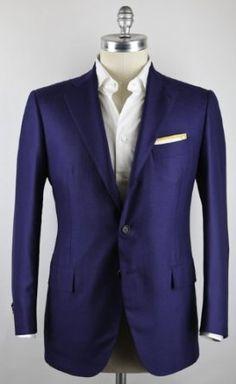 New Cesare Attolini Blue Sportcoat