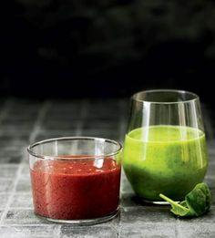 Put frugt og grønt i saftpresseren, og drik dig til ny energi på en mørk efterårsdag.