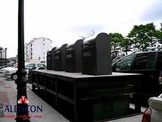 Platforma cu incarcare prin spate - Containere si platforme subterane Urban, Car, Automobile, Vehicles, Cars, Autos
