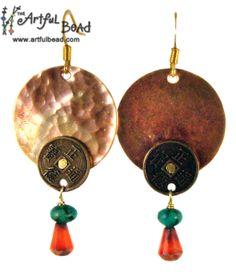 Jewelry Making Classes, Division, Oriental, Calendar, Drop Earrings, Drop Earring, Life Planner