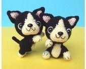 French Bulldog Puppy - PDF Crochet Pattern