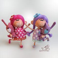 Девочки-припевочки в беспорядочном танце шлют вам горячий привет:) #дубоклёпы_куклы ☆
