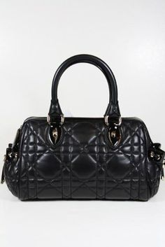 b67a1d2aad Christian Dior handbags Black Leather MO2020ASF Christian Dior Designer  Leather Handbags, Black Leather Handbags,