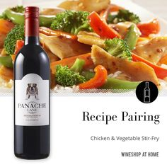 Read the recipe: http://wsah.co/bKSc2  This quick and easy #recipe pairs perfectly with the Panache Lane #Bodacious - a sweet red #wine with no sharp or heavy undertones. Try this food & wine pairing and share your thoughts! #sweetwine #redwine
