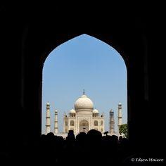 Primeira visão do Taj Mahal: tem como esquecer??