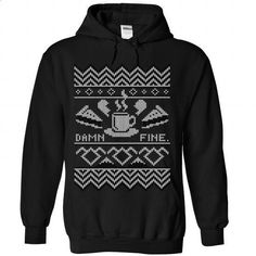 Damn Fine Christmas tshirt - custom t shirt #boyfriend tee #tee time