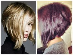 ...  this bob has a lot of versatility and the back can be dramatically short like Victoria Beckham's famous stacked inverted bob or long and subtle. Description from hairworldmag.com. I searched for this on bing.com/images