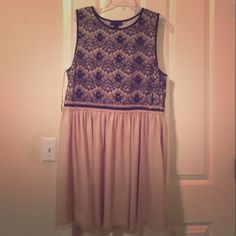 Forever 21+ lace and tulle dress sz 2x Worn once! Totally gorgeous!!! Forever 21 Dresses