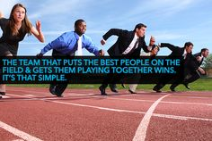 the team that puts the best people on the field & gets them playing together wins. it's that simple.