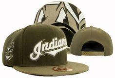 MLB Moldbaby Cleveland Indians New Era 9Fifty Snapback Hats!$8.90USD
