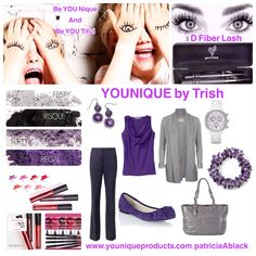Be YOUNIQUE and Be Youtiful every day with YOUNIQUE!  Www.youniqueproducts.com/PatriciaABlack
