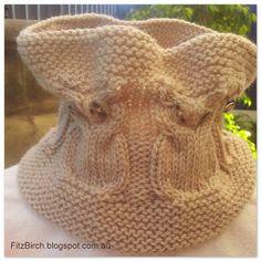 FitzBirch Crafts: Owl Cowl