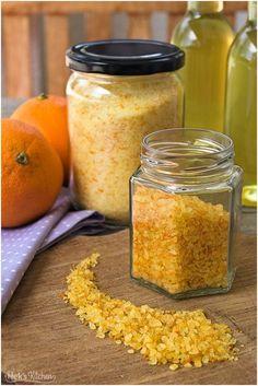 Drei Methoden das Aroma aus der Orangenschale fürs spätere Verwenden haltbar zu machen