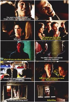 The Damon/Klaus bromance.