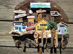 Jen Creates 3 D Wall Hangings Constructed Out Of Driftwood,old Stone Crab  Cages
