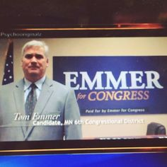 Tom Emmer is a congressional candidate. He has no authority over what company to go with for remodeling. Though he might be an authority in some fields, he has shown no expertise or qualifications for being an authority on home remodeling. Therefore, the logical fallacy her is not only Appeal to Authority, but also Appeal to Irrelevant Authority.
